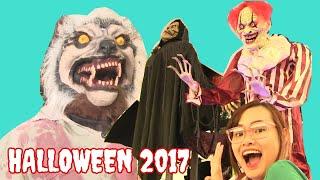 Halloween 2017 Tại Mỹ - Xem Các Trò Chơi Rợn Người Tại Khu Vui Chơi Halloween  |Chị Bí Đỏ|
