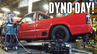 V8 DRIFT TRUCK Returns to the Dyno! How Much Will it Make?