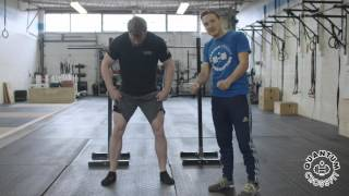 Back Squat Lesson 1  - Tripod Food & Screw the Feet in - Quanutm CrossFit Learn to Lift Series