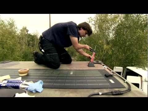 ApolloFLEX Solar Panel - Introduction and vehicle installation
