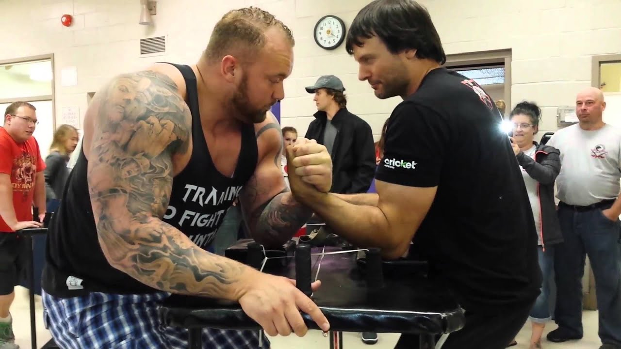 [Game Of Thrones Mountain Vs Champion Arm Wrestler] Video