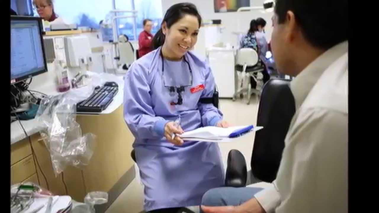 Dental Hygienist choosing school subjects