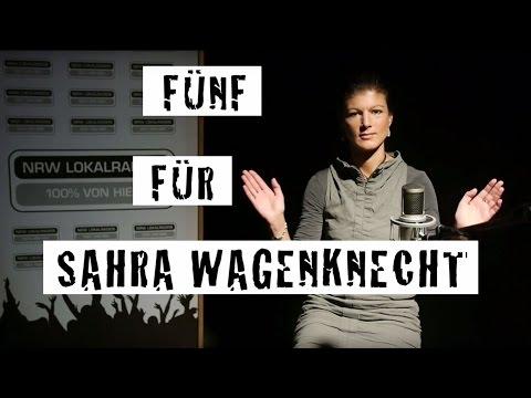 Fünf für Sahra Wagenknecht - das Interview ohne Fragen