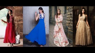 New Simple Stylish Long Dress For Women 2018 | Many Types Of Long Dress For Young Women 2018 | PBL
