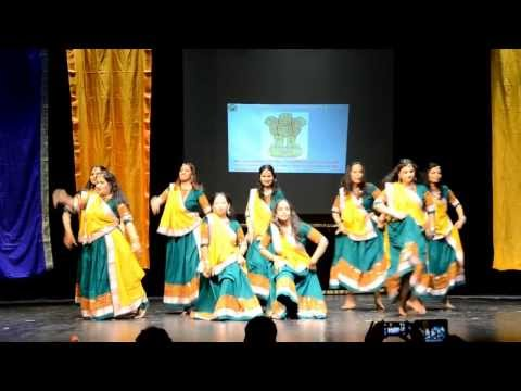 Nagada Sang Dhol Baaje - Ram-leela Performance Phoenix India Nite 2014 video