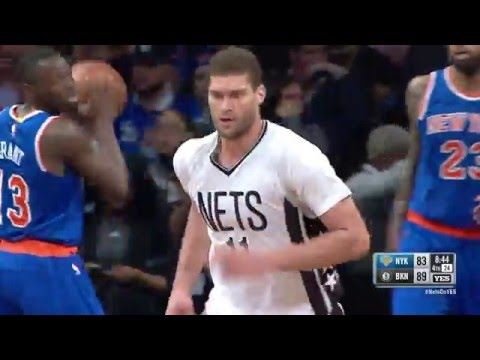 Brook Lopez Scores 33 Points in Win vs New York