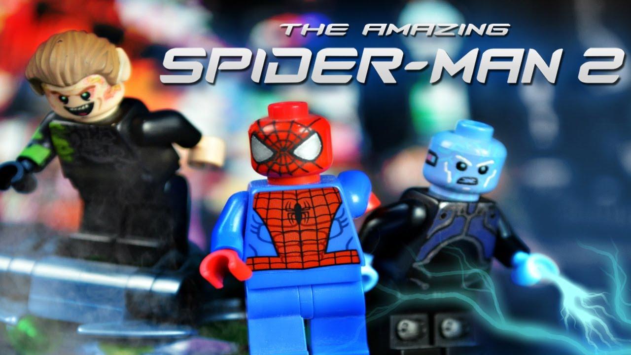 Lego Spiderman Malvorlagen Star Wars 1 Lego Spiderman: LEGO Marvel : The Amazing Spider-Man 2 Minifigures