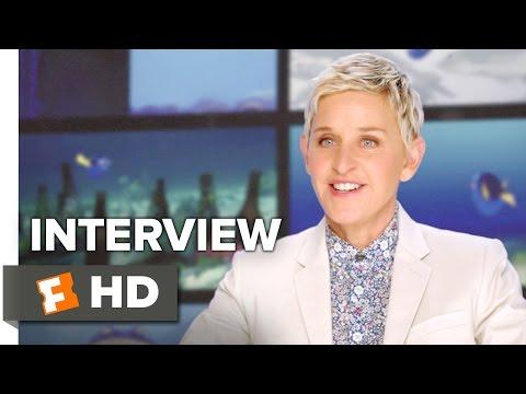 Finding Dory Interview - Ellen DeGeneres (2016) - Albert Brooks, Diane Keaton Movie HD