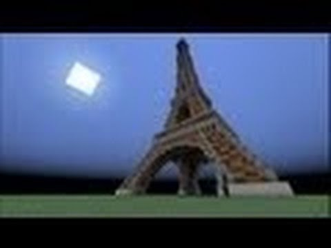 #Minecraft - Eiffel Tower speed build