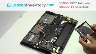 Hard Drive Replacement Lenovo Thinkpad T450s. Fix, Install, Repair HDD T440 E465 L440 20J4