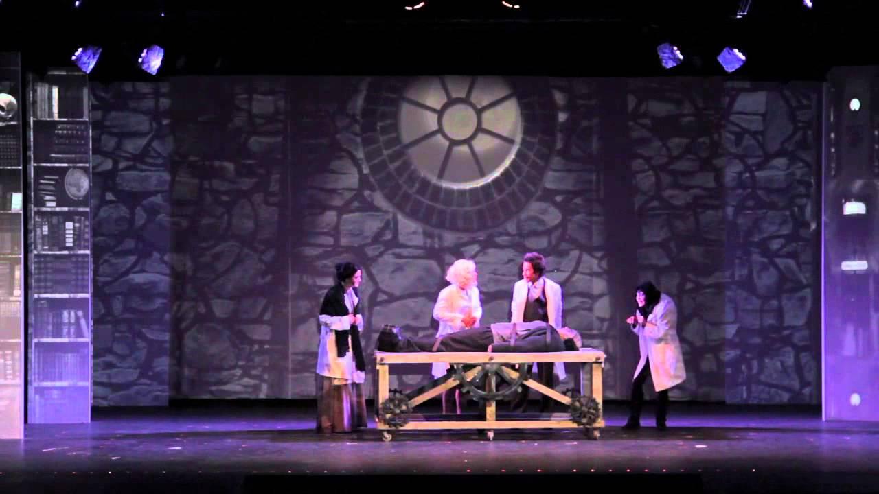 Young Frankenstein Musical Set Young Frankenstein - Malibu