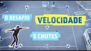 Desafio da Velocidade no Red Bull Neymar Jr's Five