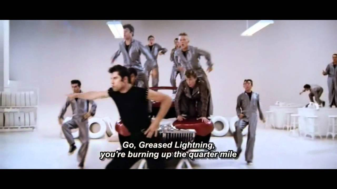 Lyrics of grease lightning