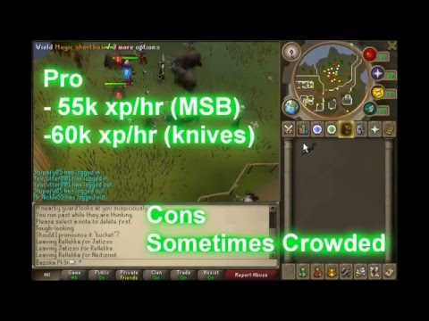 Runescape – Ultimate 99 range guide (fastest xp) BEST ONE