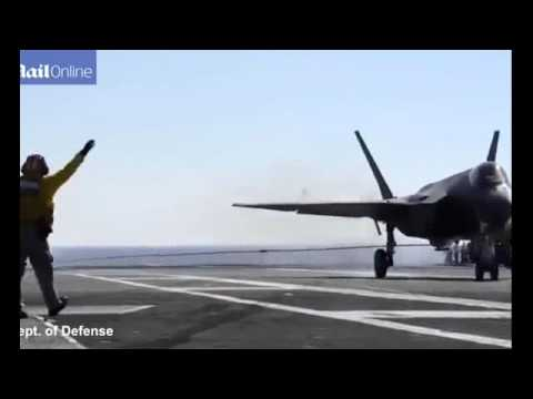 Latest News F 35 Fighter has dropped its first JSOW laser guided weapon