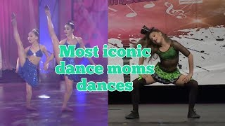 Most iconic dance moms dances