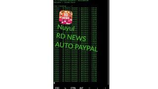 New Nuyul RD NEWS | AUTO MASUK PAYPAL😄