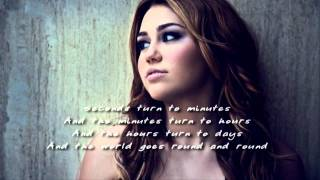 Watch Miley Cyrus Restlessness video