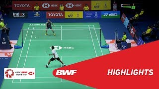 TOYOTA Thailand Open 2018 | Badminton MS - F - Highlights | BWF 2018