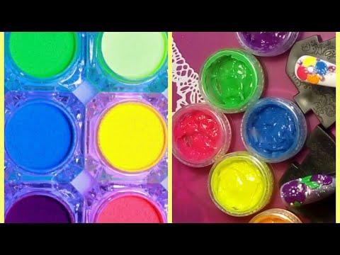 How to neon color 3D gel