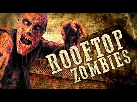 ROOFTOP ZOMBIES (Part 3) ★ Call of Duty Zombies Mod (Zombie Games)