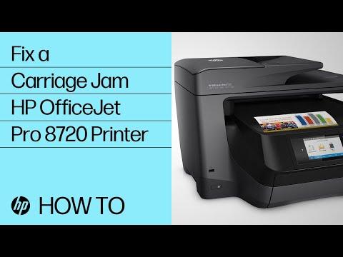User manual hp officejet pro 8720