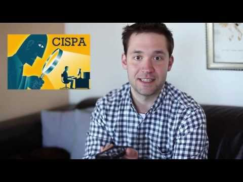 Alexis Ohanian calls Google to talk CISPA
