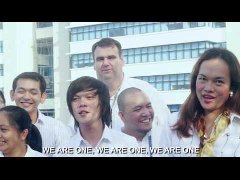 WE ARE ONE! The Convergys Alabang1 Site ID