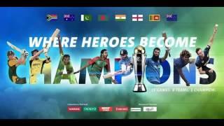 ICC Champions Trophy 2017 Scorecard Music!