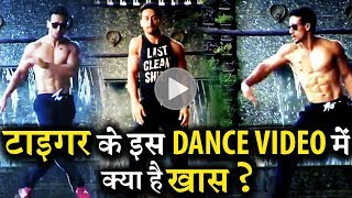 Tiger Shroff's Unique Dance Video Gets Viral