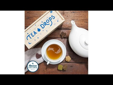 Tea Drops 25count Sampler Box of Organic Tea