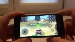 Test World of Tank Blitz for iPhone 5s 2016 (как тянет WoT Blitz iPhone 5s в 2016 году)