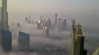 Dubai, Burj Khalifa, Above the Clouds.