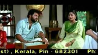 Veedu - Arayannangalude Veedu Mammootty   Dheenadhayam Oru Rama Song   Malayalam Movie   Mammootty Lakshmi