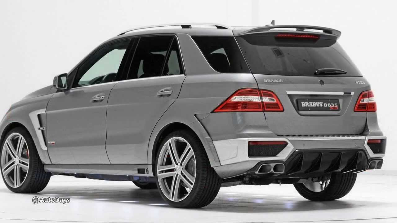 2013 Brabus Mercedes Benz Ml 63 Amg B63s 700 Widestar With Interior Design Youtube
