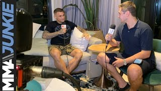 Dustin Poirier talks family, fighting, journey to Abu Dhabi at UFC 242