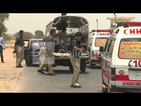 PAKISTAN KARACHI AIRPORT-SECURTY ARRIVES