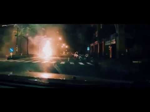 Taiwan Gas pipes Blast Fire caught on camera