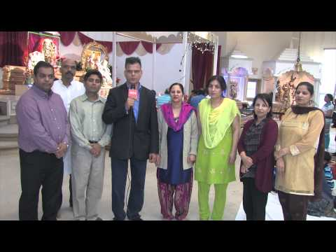 Shirdi Sai Baba Mandir  And Bhartiya Cultural Society,  Edmonton   Ram Navmi 2014 video