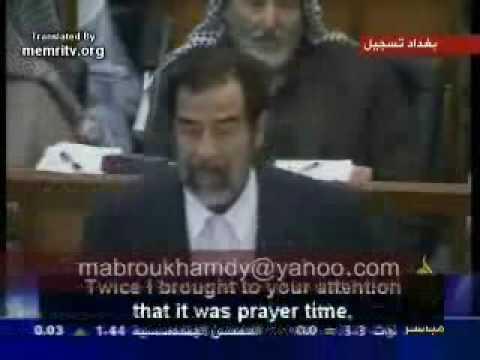 الشهيد صدام والقرضاوي