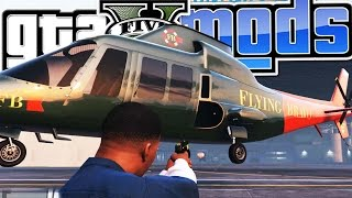 GTA 5 MODS - GRAVITY GUN MOD - E3 (Grand Theft Auto 5 PC Gameplay) Pungence