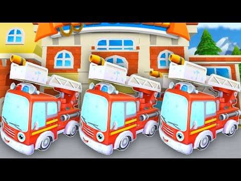 Про пожарную машину мультфильм все серии подряд. Маленький Пожарник тушит пожар все серии.