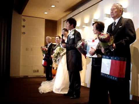 10-05-15入交英太さんひろこさん結婚式英太さん挨拶.MPG