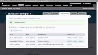 Episode 17 - Sauvegarder et restaurer une base de données sous Drupal 7