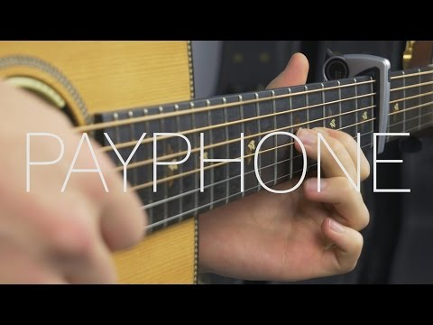 Maroon 5 - Payphone - Fingerstyle Guitar Cover By James Bartholomew