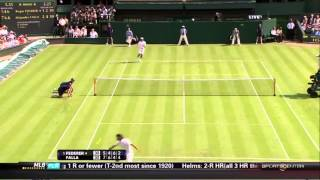 Federer vs Falla Wimbledon big falla[HD]-2/2-.wmv