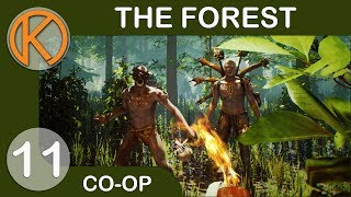 The Forest Co-Op | POKING OUR DEFENSES - Ep. 11 | Let's Play The Forest Gameplay