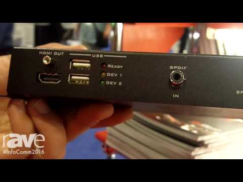 InfoComm 2016: Hall Research Introduces UH2X P1