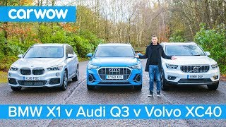 Audi Q3 vs BMW X1 vs Volvo XC40 - which is the best posh small SUV?