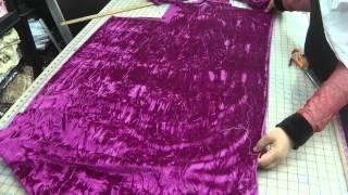 making a return to sew a pretty dress